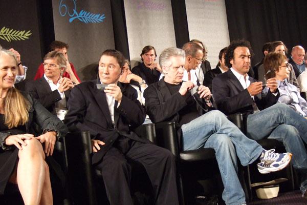 Cada um com seu Cinema : Foto Bille August, David Cronenberg, Gus Van Sant, Jane Campion, Michael Cimino