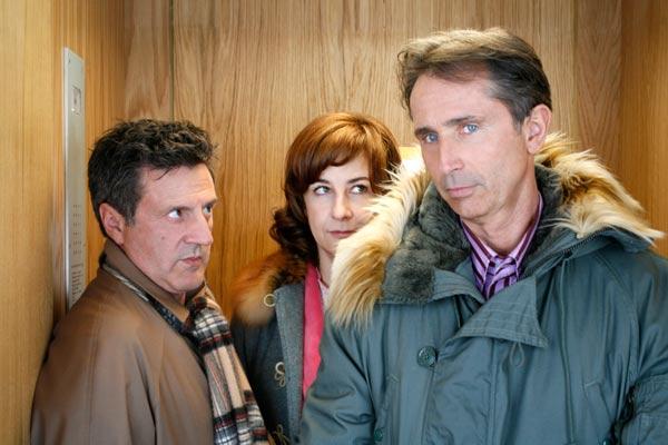 Foto Daniel Auteuil, Laurent Bouhnik, Thierry Lhermitte, Valérie Lemercier