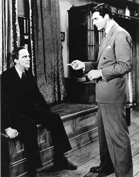 Este Mundo é um Hospício : Foto Cary Grant, Frank Capra, Raymond Massey
