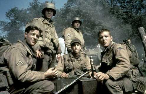 O Resgate do Soldado Ryan : Foto Adam Goldberg, Barry Pepper, Edward Burns, Giovanni Ribisi, Tom Sizemore