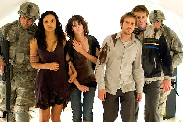 Cloverfield - Monstro : Foto Jessica Lucas, Lizzy Caplan, Michael Stahl-David, T.J. Miller