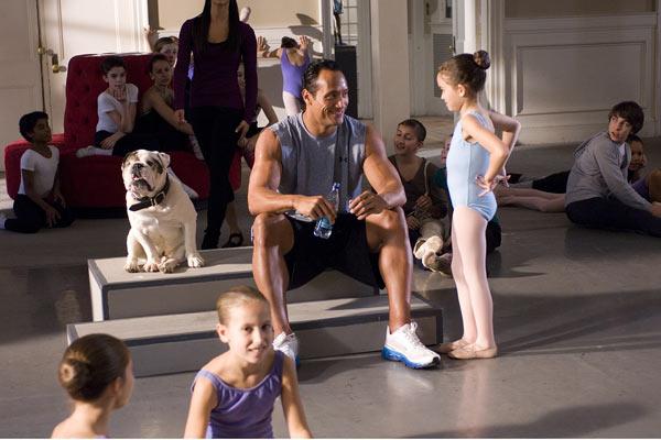 Treinando o Papai : Foto Andy Fickman, Dwayne Johnson, Madison Pettis