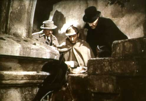 O Cão dos Baskervilles: Terence Fisher, Christopher Lee, André Morell, Peter Cushing