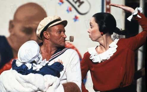 Popeye : Foto Robin Williams, Shelley Duvall