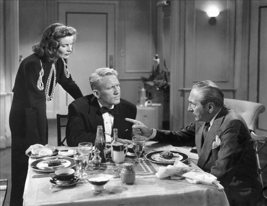 Sua Esposa e o Mundo : Foto Adolphe Menjou, Katharine Hepburn, Spencer Tracy