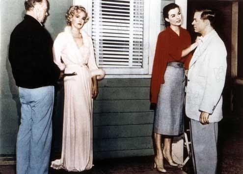 Torrentes de Paixão : Foto Henry Hathaway, Jean Peters, Marilyn Monroe