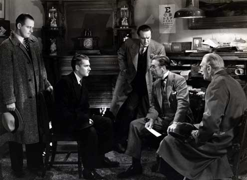 Rebecca, A Mulher Inesquecível : Foto George Sanders, Laurence Olivier, Leo G. Carroll