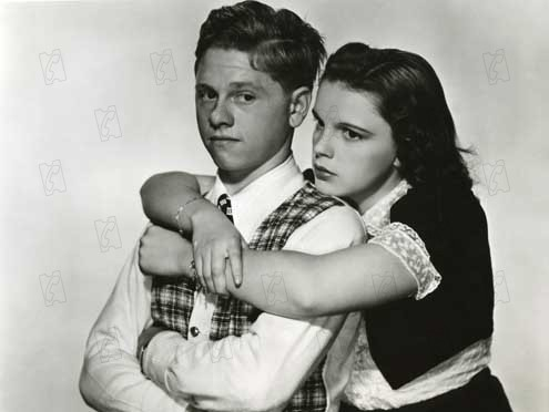 Love Finds Andy Hardy : Photo George B. Seitz, Judy Garland, Mickey Rooney