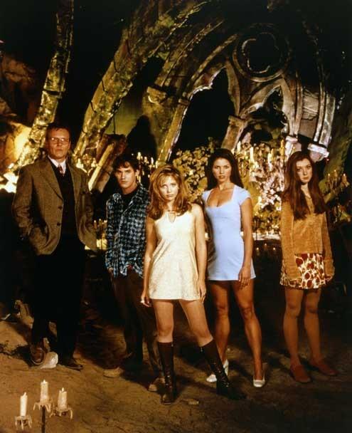 Buffy, a Caça-Vampiros : Foto Alyson Hannigan, Anthony Head, Charisma Carpenter, Nicholas Brendon, Sarah Michelle Gellar