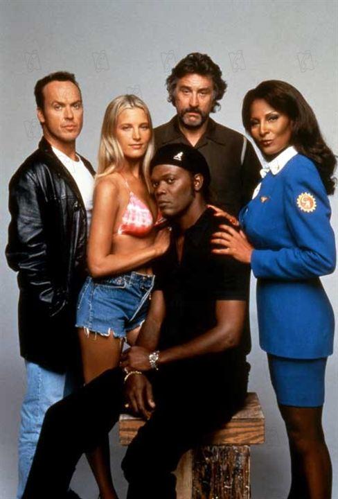 Jackie Brown : Foto Bridget Fonda, Michael Keaton, Pam Grier, Robert De Niro, Samuel L. Jackson