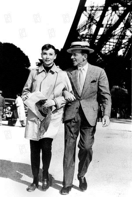 Cinderela em Paris : Foto Audrey Hepburn, Fred Astaire, Stanley Donen