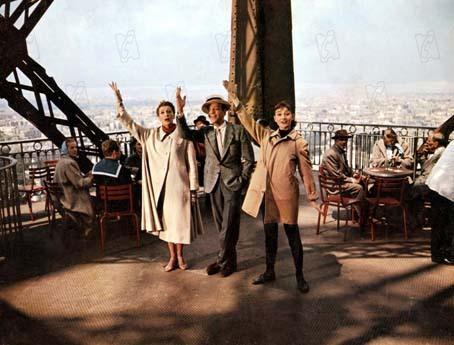Foto Audrey Hepburn, Fred Astaire, Stanley Donen