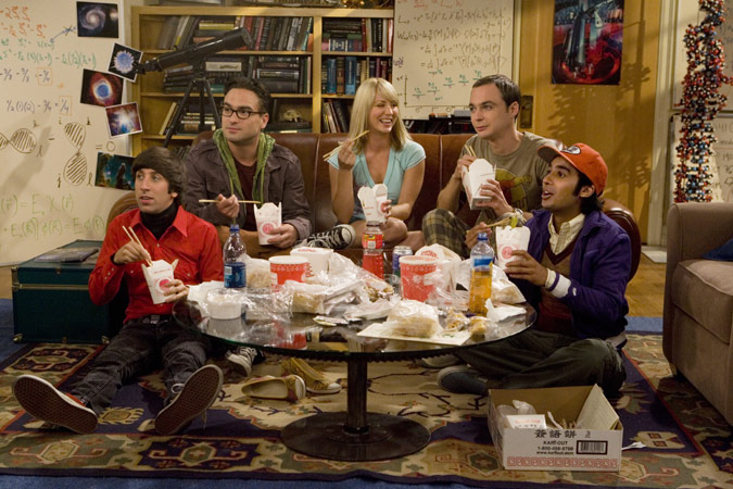 The Big Bang Theory : Foto Jim Parsons, Johnny Galecki, Kaley Cuoco, Kunal Nayyar, Simon Helberg