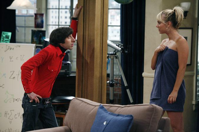 The Big Bang Theory : Foto Kaley Cuoco, Simon Helberg
