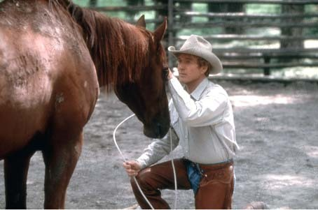 O Encantador de Cavalos : Foto Robert Redford