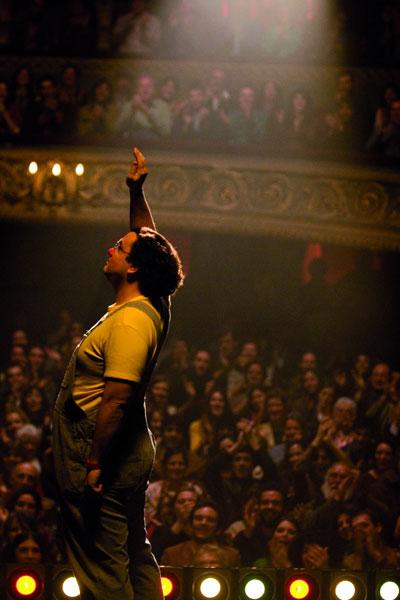 Coluche, l'histoire d'un mec : Photo Antoine de Caunes, François-Xavier Demaison