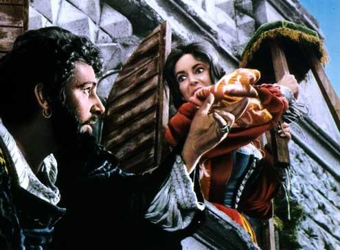 A Megera Domada : Foto Elizabeth Taylor, Franco Zeffirelli, Richard Burton