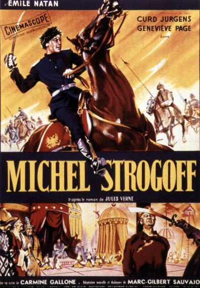 Michel Strogoff : Poster Carmine Gallone, Curd Jürgens
