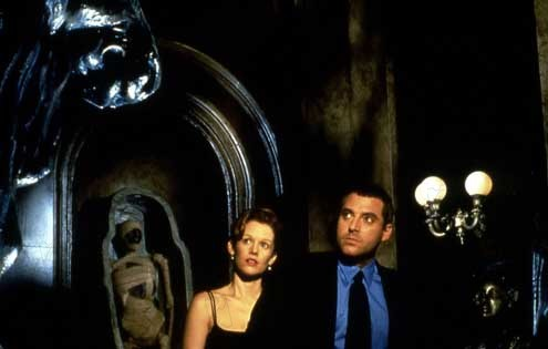 The Relic : Foto Penelope Ann Miller, Peter Hyams, Tom Sizemore