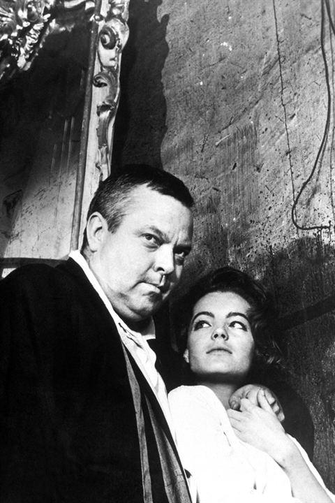 O Processo : Foto Orson Welles, Romy Schneider