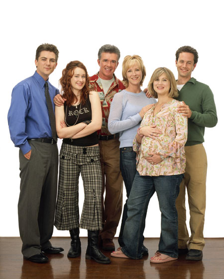 Growing Pains : Foto Alan Thicke, Ashley Johnson, Jeremy Miller, Joanna Kerns, Kirk Cameron
