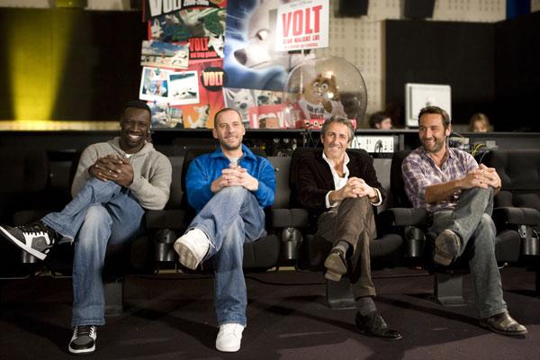 Bolt - Supercão : Foto Chris Williams, Fred Testot, Gilles Lellouche, Omar Sy, Richard Anconina
