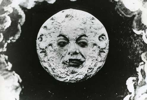 Viagem à Lua : Foto Georges Méliès