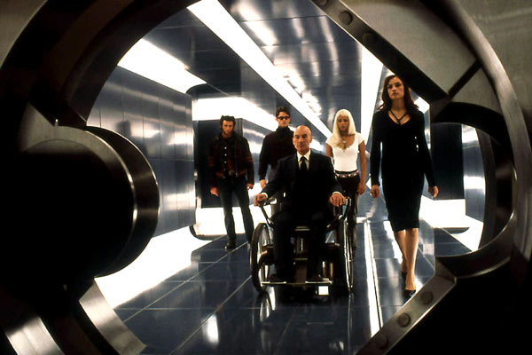 X-Men - O Filme : Foto Famke Janssen, Halle Berry, Hugh Jackman, James Marsden, Patrick Stewart