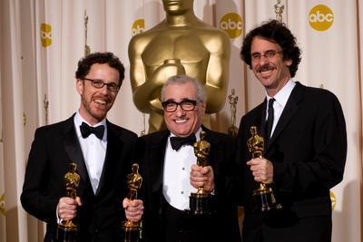 Foto Ethan Coen, Joel Coen, Martin Scorsese