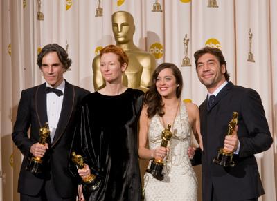 Foto Daniel Day-Lewis, Javier Bardem, Marion Cotillard, Tilda Swinton