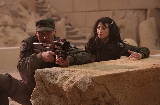 Stargate SG-1 : Foto Ben Browder, Claudia Black