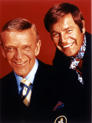 Foto Fred Astaire, Robert Wagner