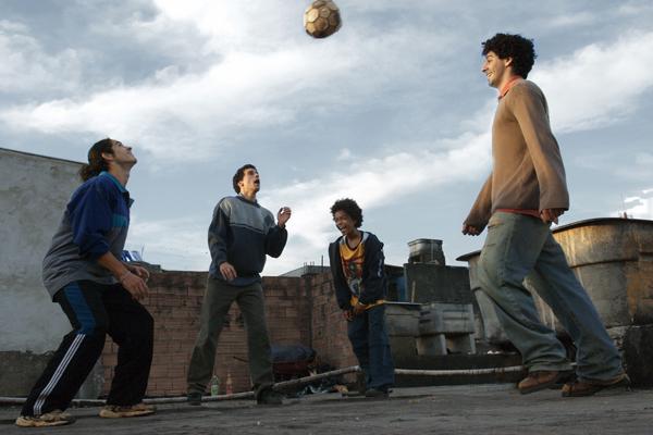 Linha de Passe : Foto Daniela Thomas, João Baldasserini, José Geraldo Rodrigues, Vinicius de Oliveira, Walter Salles