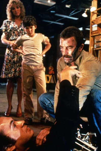 Runaway : Foto Michael Crichton, Tom Selleck