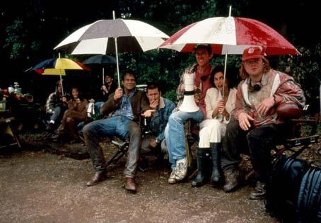Twister : Foto Bill Paxton, Helen Hunt, Jami Gertz, Jan de Bont, Philip Seymour Hoffman
