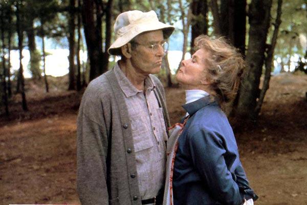 Num Lago Dourado : Foto Henry Fonda, Katharine Hepburn, Mark Rydell