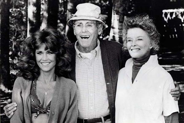 Num Lago Dourado : Foto Henry Fonda, Jane Fonda, Katharine Hepburn, Mark Rydell