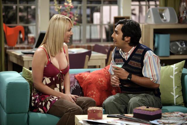 The Big Bang Theory : Foto Kaley Cuoco, Kunal Nayyar