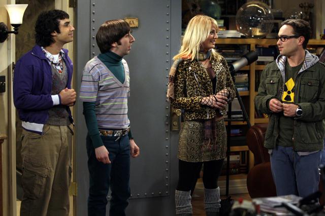 The Big Bang Theory : Foto Johnny Galecki, Kaley Cuoco, Kunal Nayyar, Simon Helberg