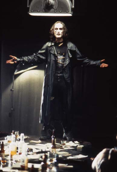 O Corvo : Foto Alex Proyas, Brandon Lee