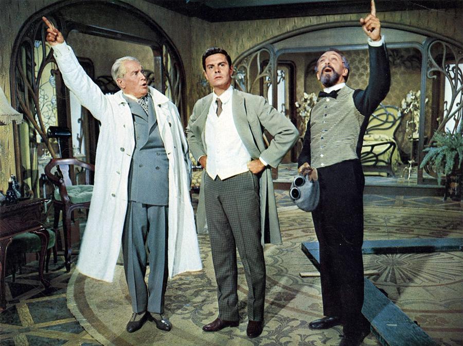 Gigi : Foto Edwin Jerome, Louis Jourdan, Maurice Chevalier