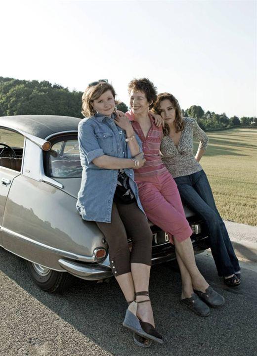 Foto Caroline Cellier, Catherine Jacob, Jane Birkin