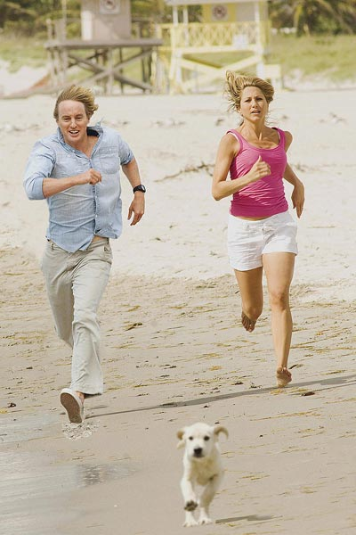 Marley & Eu : Foto David Frankel, Jennifer Aniston, Owen Wilson