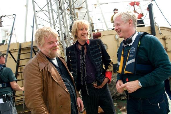 Os Piratas do Rock : Foto Philip Seymour Hoffman, Rhys Ifans, Richard Curtis