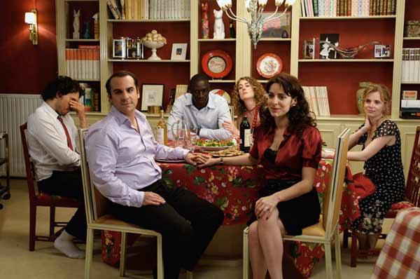 Tellement proches : Foto Audrey Dana, François-Xavier Demaison, Isabelle Carré, Joséphine de Meaux, Omar Sy