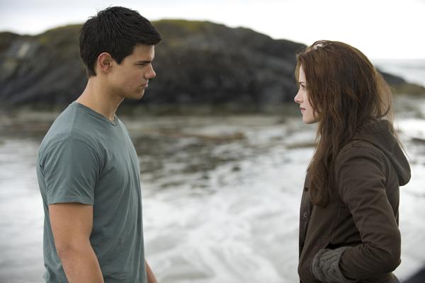 A Saga Crepúsculo: Lua Nova : Foto Kristen Stewart, Taylor Lautner