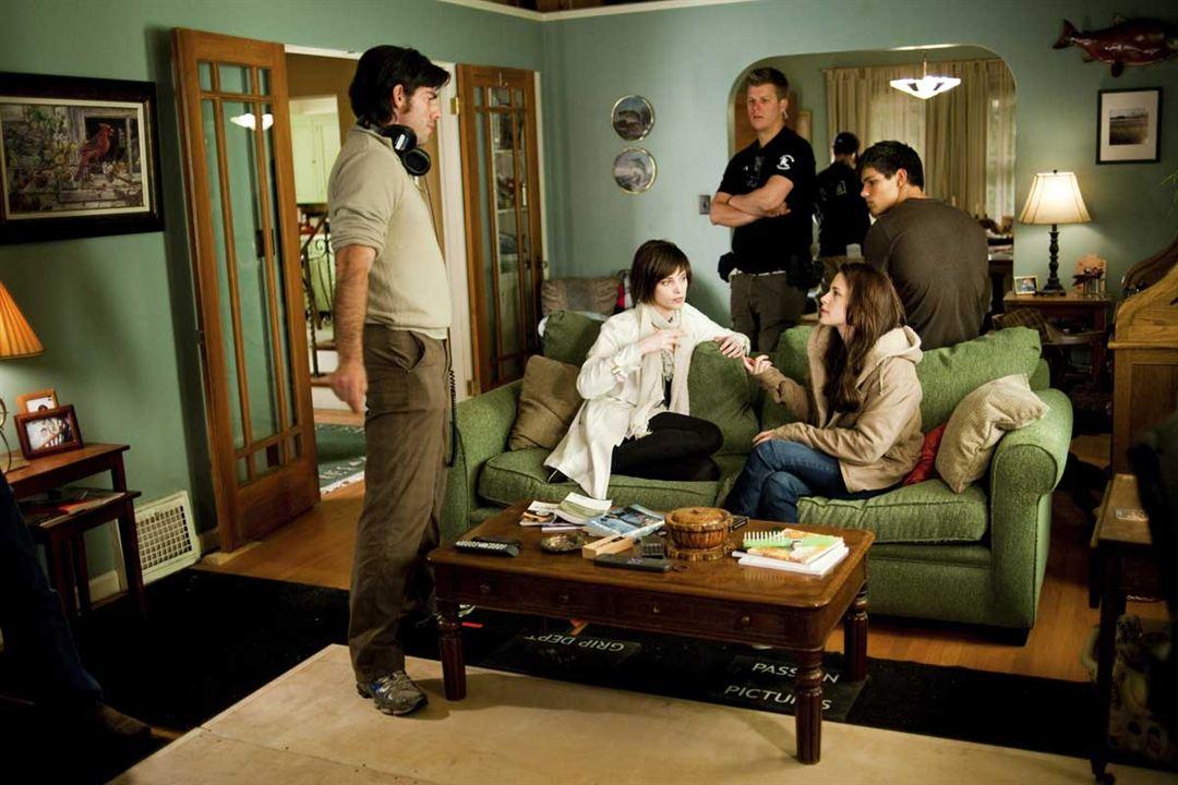 A Saga Crepúsculo: Lua Nova : Foto Ashley Greene, Chris Weitz, Kristen Stewart, Stephenie Meyer, Taylor Lautner