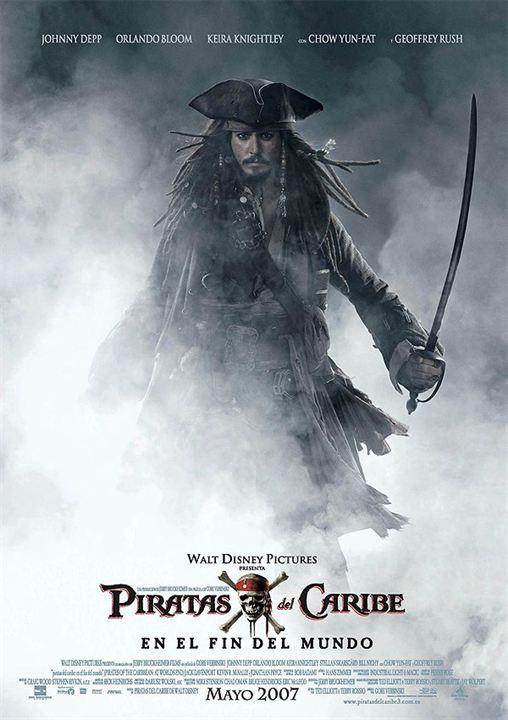Piratas do Caribe - No Fim do Mundo : Poster