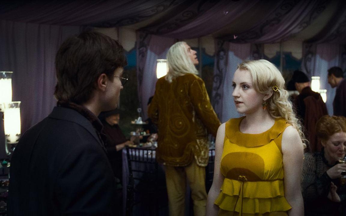 Harry Potter e as Relíquias da Morte - Parte 1 : Foto Daniel Radcliffe, Evanna Lynch