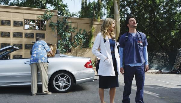 Scrubs : Foto Sarah Chalke, Zach Braff